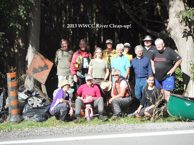 2013 WWCC River Clean-up Crew!