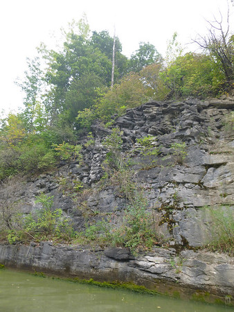 rugged canal wall