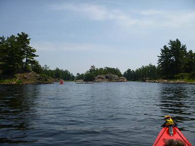 D3 paddling