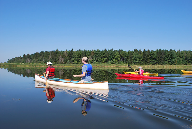 Luther Marsh excellent paddle Aug 17
