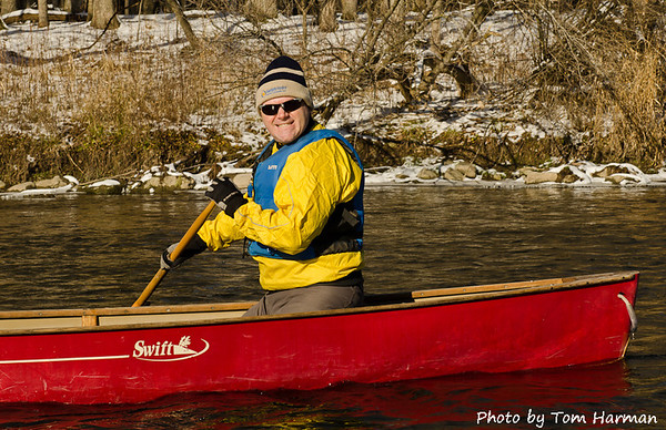 New Years Day Paddle - Warren Photo by Tom Harman