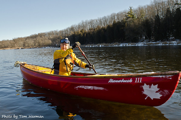 New Years Day Paddle - Nick  Photo by Tom Harman