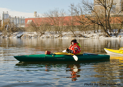 New Years Day Paddle  Photo by Tom Harman