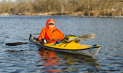 New Years Day Paddle  - Judy L Photo by Tom Harman