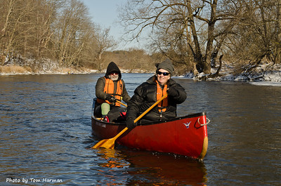 New Years Day Paddle - Kate & Neil  Photo by Tom Harman