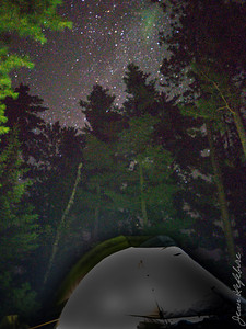 Tent with Stars on the Ceiling