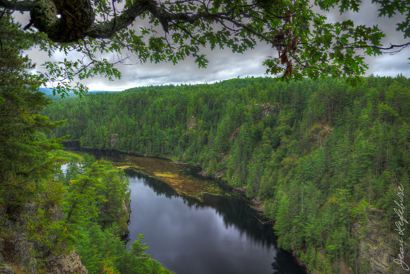 """View from the top of the """"Natch"""". Petawawa River in Algonquin Park."""