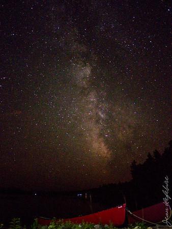 Star light, star bright ... light my canoe a path!