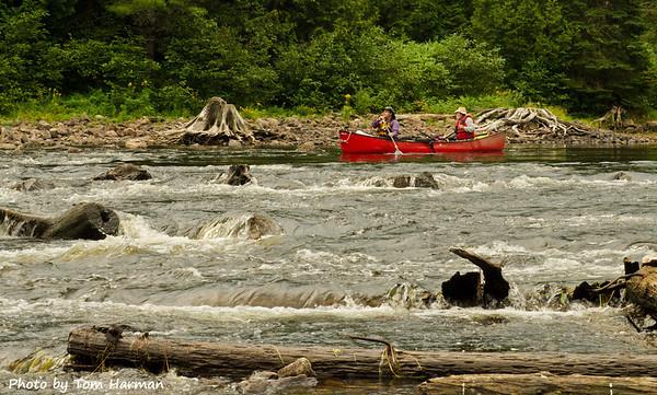 Approaching Big Thompson Rapids