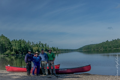 The ones that made it :) Petawawa River in Algonquin Park, Ontario, Canada