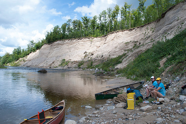 Saugeen River, Below Walkerton. Photos: Peter Havemann