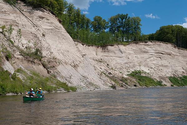 Saugeen River, Below Walkerton. Photos: Peter Havemann