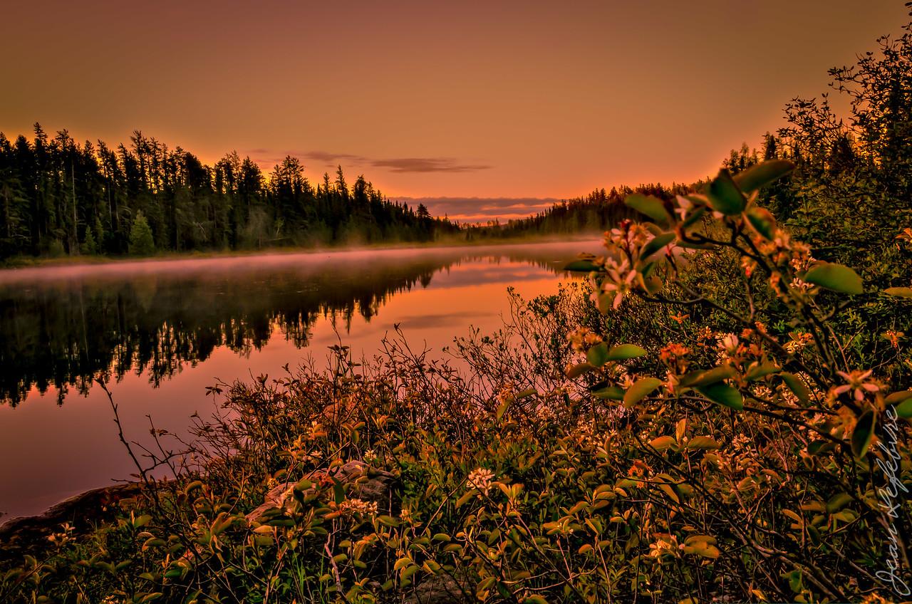 Temagami Sunrise - Alexander Lake