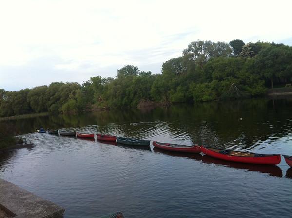 Eramosa River during 2 rivers festival Judi