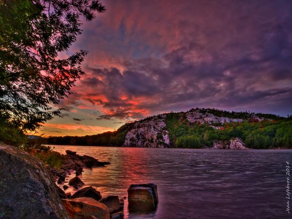 Killarney Lake Sunset