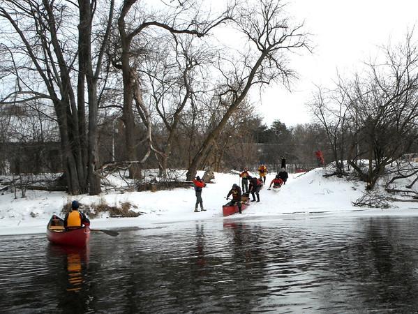 Canoe Tobogganning