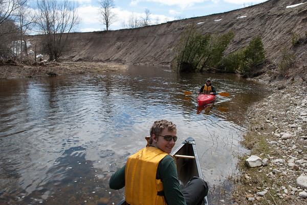 April 27 trip on the South Saugeen River - Mount Forest section