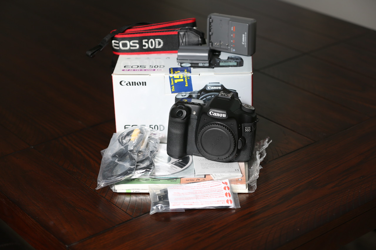 Canon 50D - Body Only - Low Shutter Count -- Classifieds