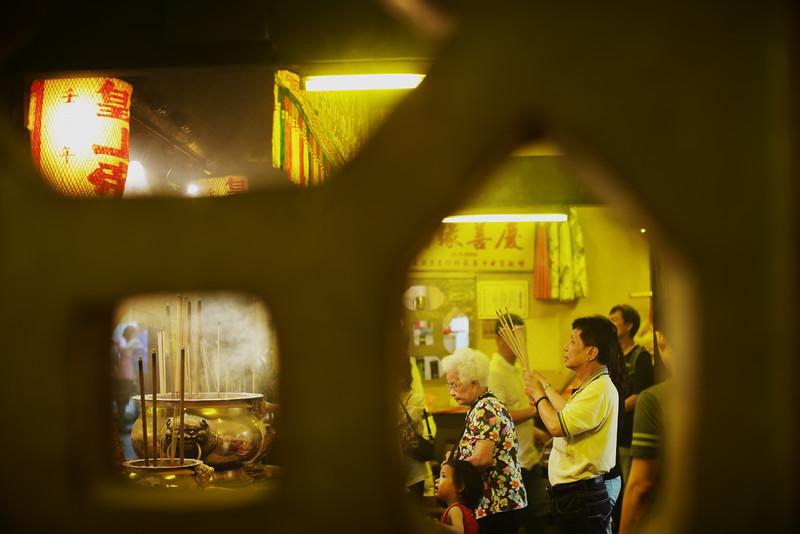 "Nine Emperor Gods Festival at Hougang Tou Mu Kung.<br><span style=""font-size:75%"">©Yangchen Lin</span>"
