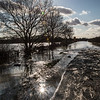 Fordstead Road, Barnby Dun floods
