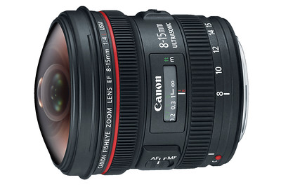 Canon 8-15mm f/4L EF USM Fisheye