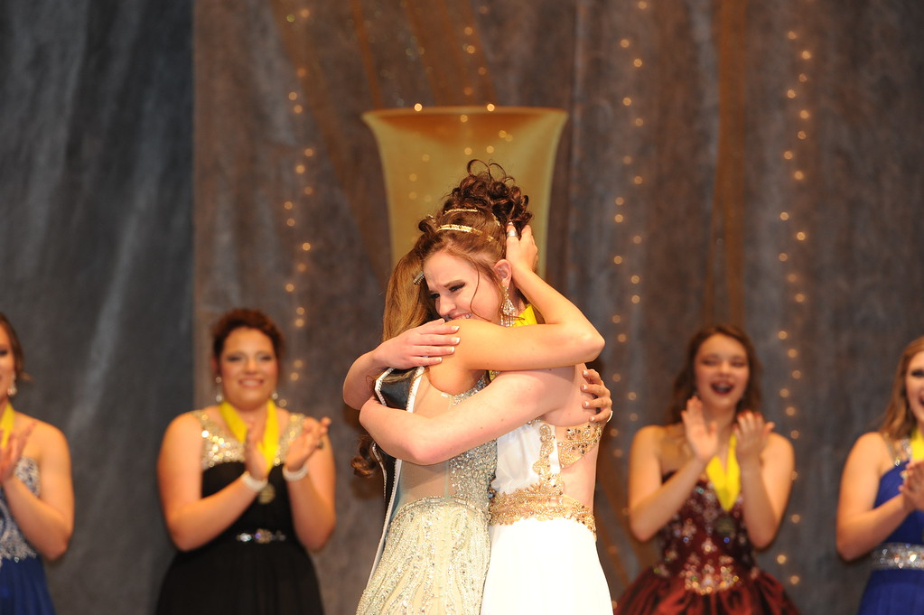 . The 2016 Cañon City Music & Blossom Festival Queen\'s court was announced during the 71st annual Queen�s Pageant on Saturday at Cañon City High School.  Carie Canterbury/Daily Record 3-19-16