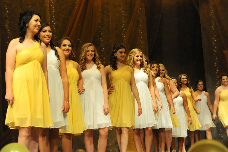 The 2016 Cañon City Music & Blossom Festival Queen's court was announced during the 71st annual Queen's Pageant on Saturday at Cañon City High School.  Carie Canterbury/Daily Record 3-19-16