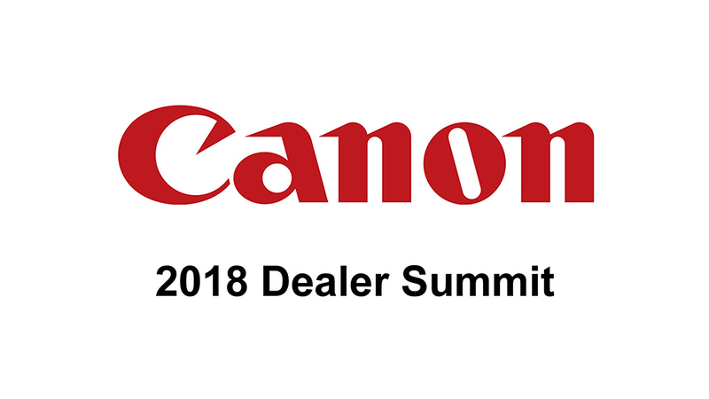 Canon Dealer Summit Top Dealers Slideshow