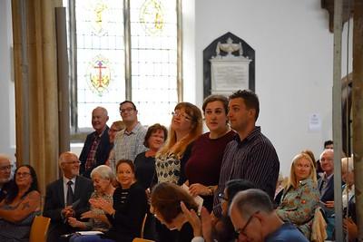 Canon Edward's last Sunday