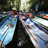 "longboats on the Clearwater River in Gunung Mulu National Park, Sarawak<br><span style=""font-size:75%"">©Yangchen Lin</span>"