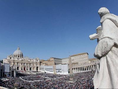 Canonization in Rome