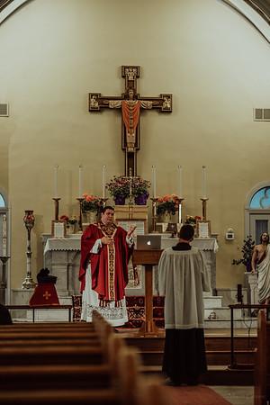 Stpatricks LatinMass Fr  McQuaide covid19 0255