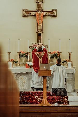 Stpatricks LatinMass Fr  McQuaide covid19 0285