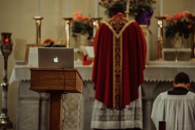 Stpatricks LatinMass Fr  McQuaide covid19 0281
