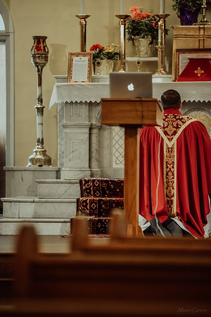 Stpatricks LatinMass Fr  McQuaide covid19 0305