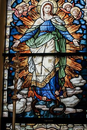 Stpatricks LatinMass Fr  McQuaide covid19 0316