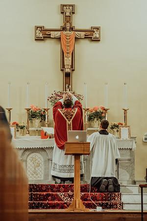 Stpatricks LatinMass Fr  McQuaide covid19 0287