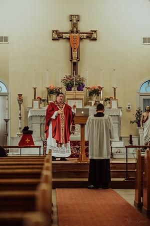 Stpatricks LatinMass Fr  McQuaide covid19 0260