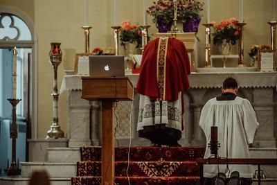 Stpatricks LatinMass Fr  McQuaide covid19 0280