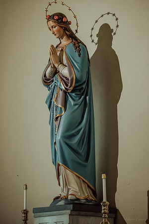 Stpatricks LatinMass Fr  McQuaide covid19 0314
