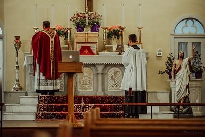 Stpatricks LatinMass Fr  McQuaide covid19 0298