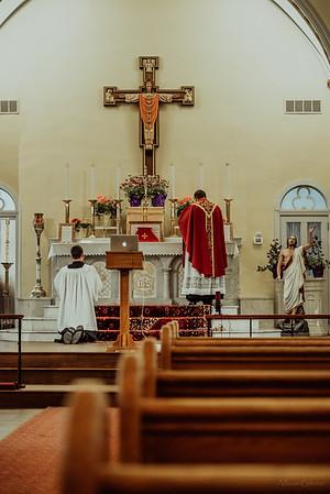 Stpatricks LatinMass Fr  McQuaide covid19 0293