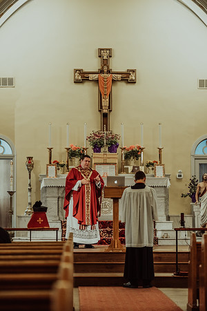 Stpatricks LatinMass Fr  McQuaide covid19 0258