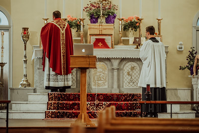 Stpatricks LatinMass Fr  McQuaide covid19 0297