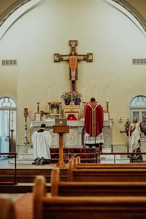 Stpatricks LatinMass Fr  McQuaide covid19 0292