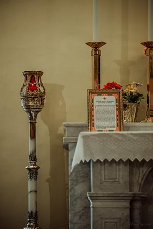 Stpatricks LatinMass Fr  McQuaide covid19 0313