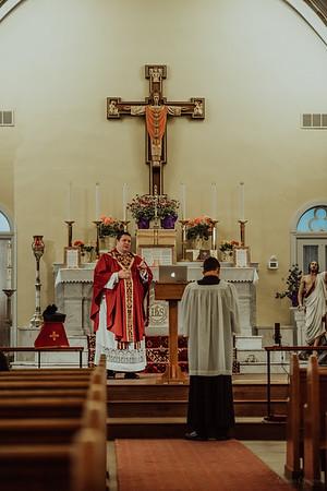 Stpatricks LatinMass Fr  McQuaide covid19 0259