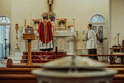 Stpatricks LatinMass Fr  McQuaide covid19 0278