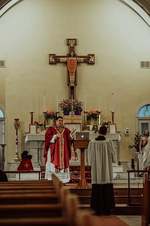 Stpatricks LatinMass Fr  McQuaide covid19 0256