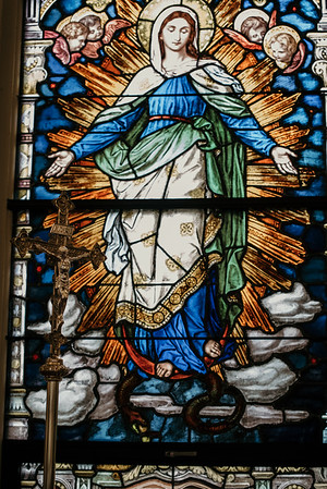 Stpatricks LatinMass Fr  McQuaide covid19 0315